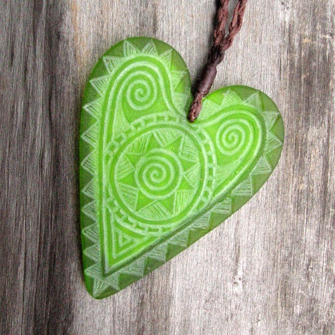 Green Heart Jewellery