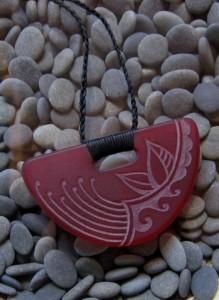Pohutukawa pendant